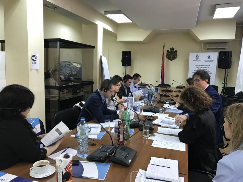 Մարդու իրավունքների պաշտպանի ներկայացուցիչներն աշխատանքային այցով գտնվել են Սերբիայում