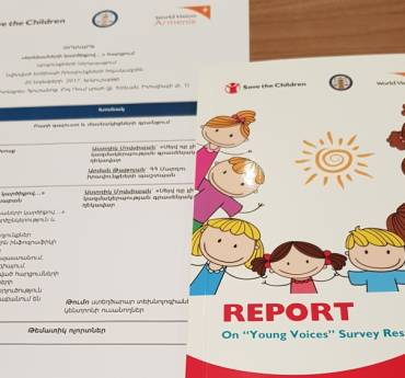 "Presentation of the results of ""Young Voices"" survey"