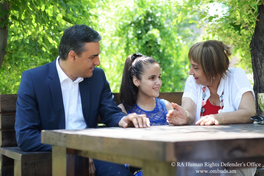 We should teach children independent living skills, believe in their potential and keep their dignity high: Arman Tatoyan
