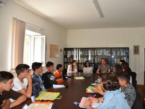 ՀՕՖ-ի Երեխաների աջակցության կենտրոնի երեխաները Մարդու իրավունքների պաշտպանի գրասենյակում