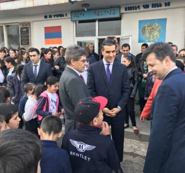 The Human Rights Defender Arman Tatoyan had an official visit to Syunik province