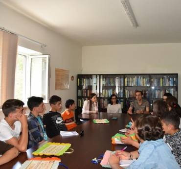 Children from the FAR Children Support Center at the Human Rights Defender's Office