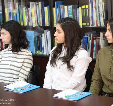 Future lawyers visited the Human Rights Defender's Office