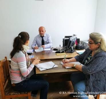 Monitoring visits aimed at guaranteeing rights of children