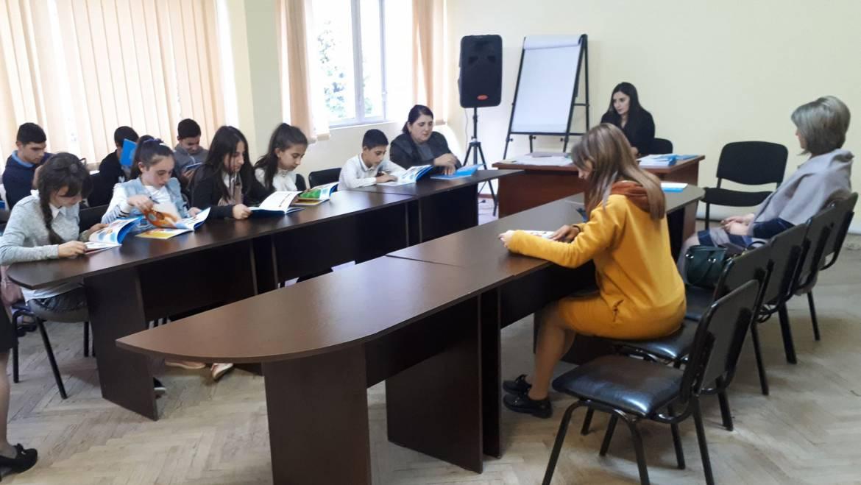 Եղեգի միջնակարգ դպրոցի աշակերտներն այցելել են Պաշտպանի աշխատակազմի Սյունիքի մարզային ստորաբաժանում