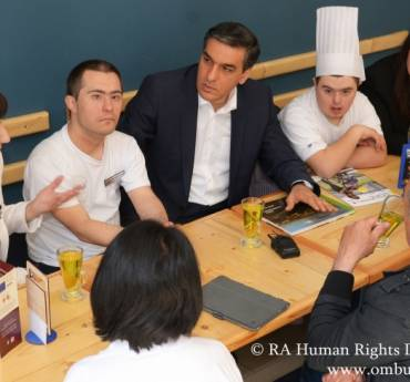 We should teach our children independent living skills: The Human Rights Defender had meetings in Gyumri
