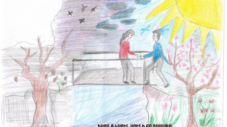 Երեխաների իրավունքների պաշտպանության օրվան ընդառաջ դպրոցականները «խոսում» են իրենց իրավունքների մասին նկարի լեզվով