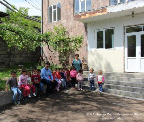 Մշտադիտարկման այցեր երեխաների իրավունքների երաշխավորման նպատակով